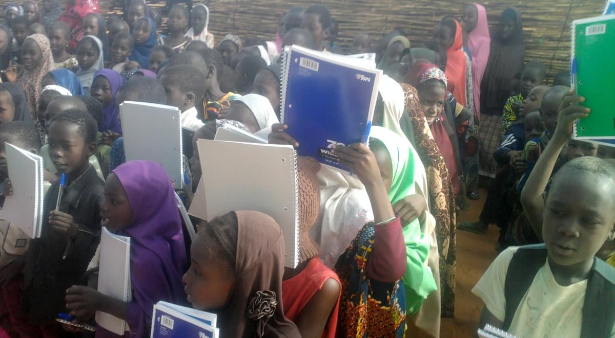 Photos des dons au Niger